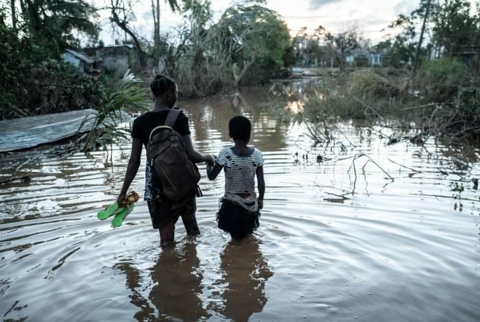Ciclone deixou um rastro de destruição em Moçambique