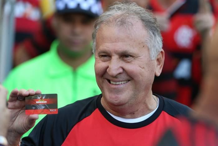 Zico, ídolo maior da torcida do Flamengo