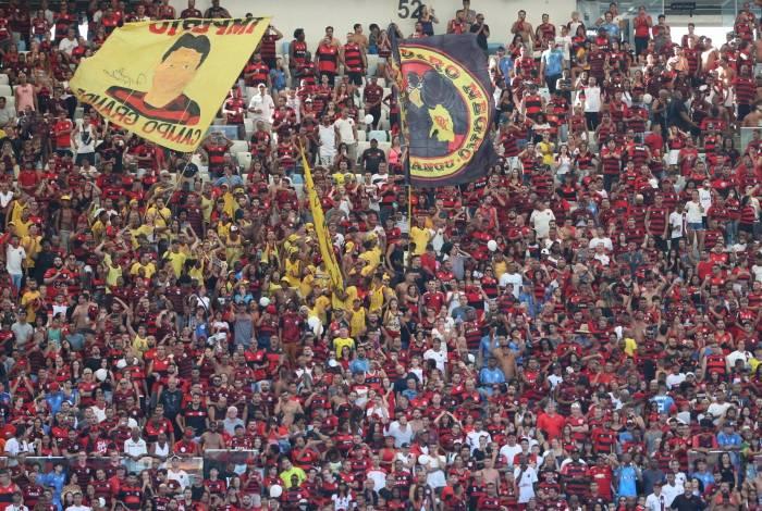Torcida do Flamengo irá mais uma vez lotar o Maracanã