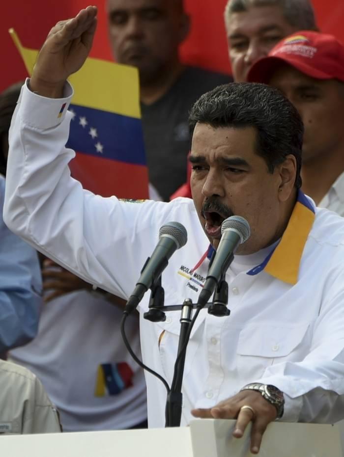 Presidente da Venezuela, Nicolás Maduro