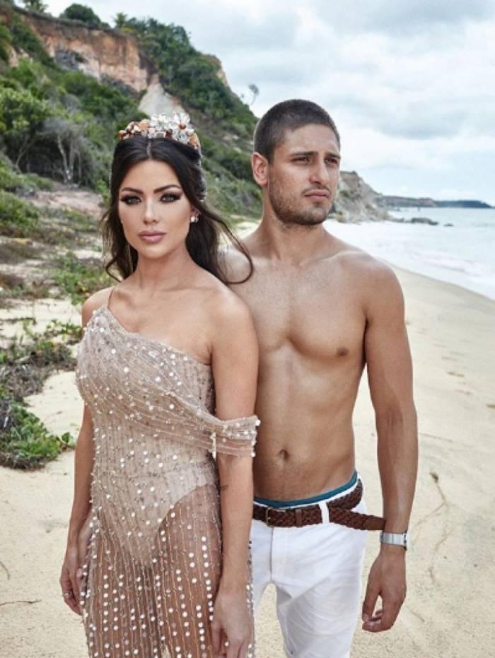 Daniel Rocha se casa em cerimônia em Trancoso, na Bahia