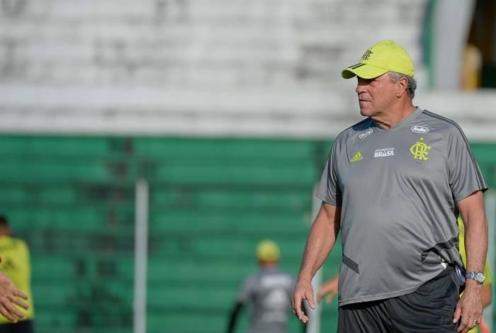 Abel Braga, técnico do Flamengo