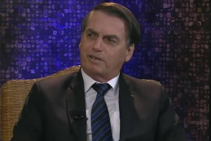Em entrevista, Bolsonaro minimizou fechamento do Congresso durante período ditatorial no país