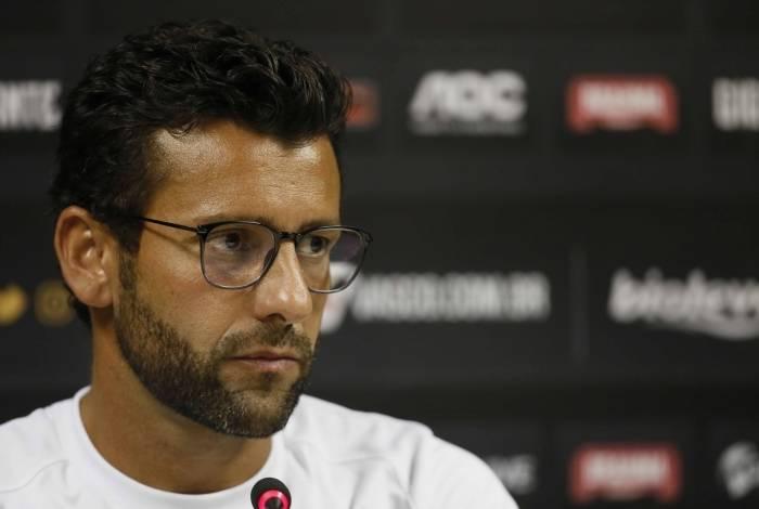 Alberto Valentim, técnico do Vasco