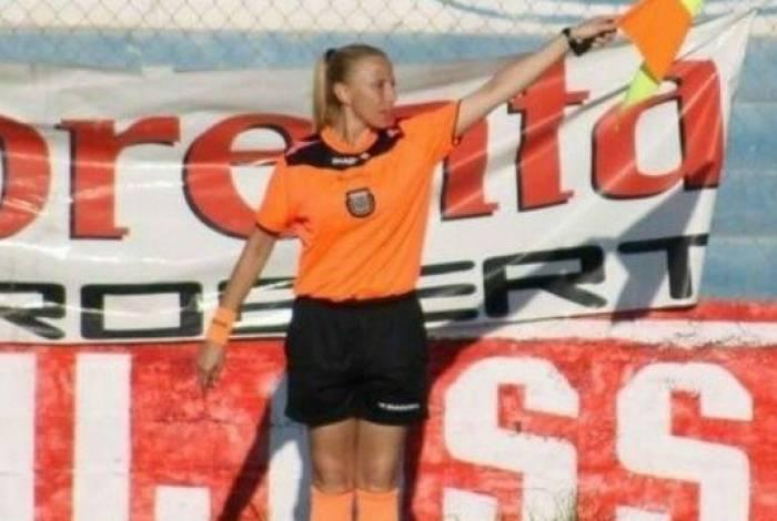 Rosana Paz foi atacada por torcedores argentinos