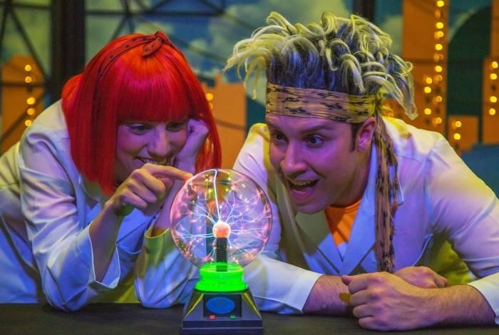 Espetáculo 'Quanta Energia'  no Museu da Light