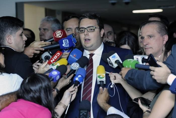 Presidente da CCJ, dep. Felipe Francischini (PSL - PR)