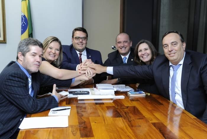 Deputado Felipe Francischini reuniu-se com lideranças do governo antes do anúncio do relator na CCJ