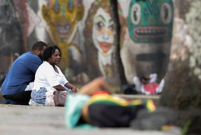 Rio de Janeiro (RJ), 29/03/2019, ESPECIAL - MORADORES DE RUA - Moradores de rua na Avenida República do Paraguai, centro do Rio de Janeiro.Foto: Armando Paiva / Agencia O Dia Especial, Moradores de Rua, zona sul