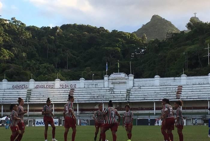 Jogadores do Fluminense estrearam nas Laranjeiras