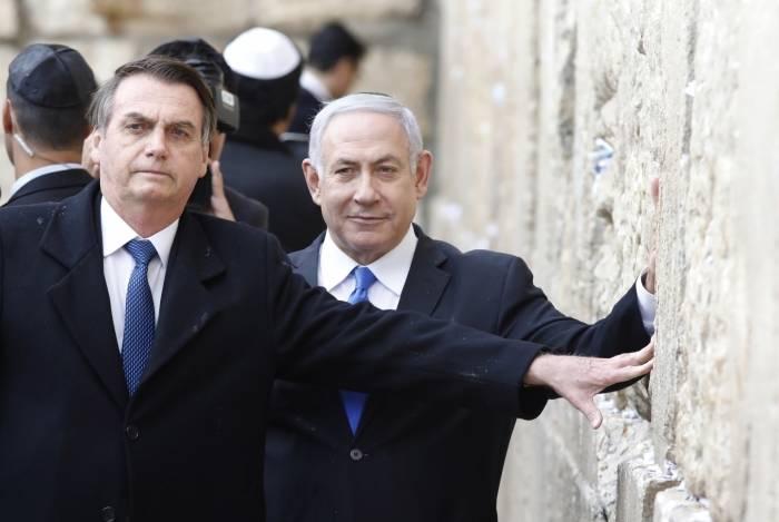 Presidente Jair Bolsonaro já havia sinalizado, no início do ano, que fortaleceria os laços de parceria com Israel