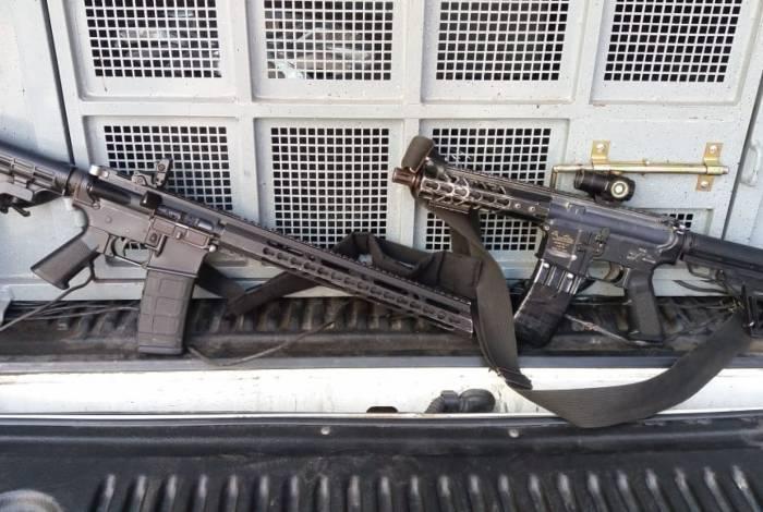 Cinco suspeitos são presos e dois fuzis são apreendidos na comunidade Cidade Alta, em Cordovil