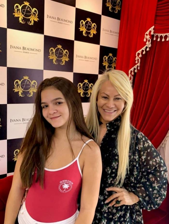 Mel Maia e Ivana Beaumond Paris