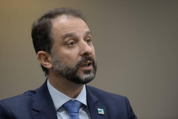 Secretario estadual de Fazenda, Luiz Claudio Rodrigues Carvalho