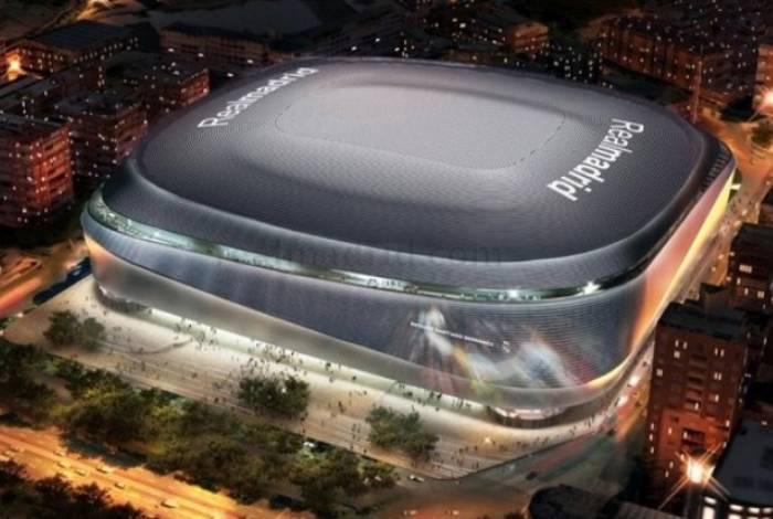 A fachada do novo estádio será inteiramente de aço inoxidável