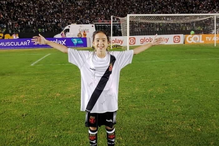 Mariana Gontijo é figurinha carimbada em São Januário