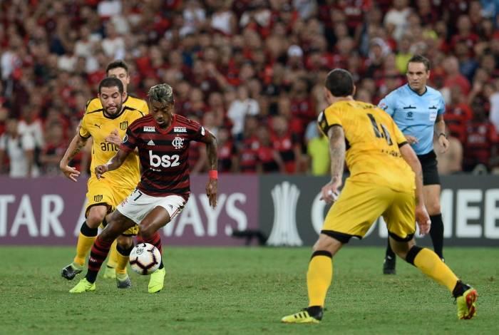 Patricio Loustau apitou Flamengo e Peñarol