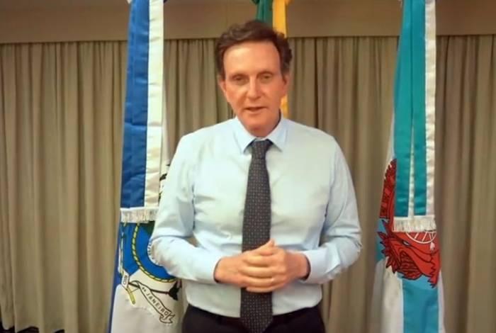 Crivella fez um vídeo para se defender do impeachment