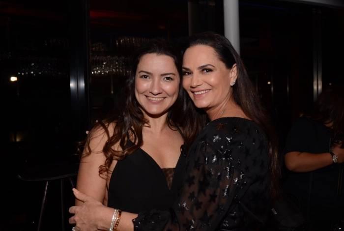 Melissa Biscoto e Luiza Brunet