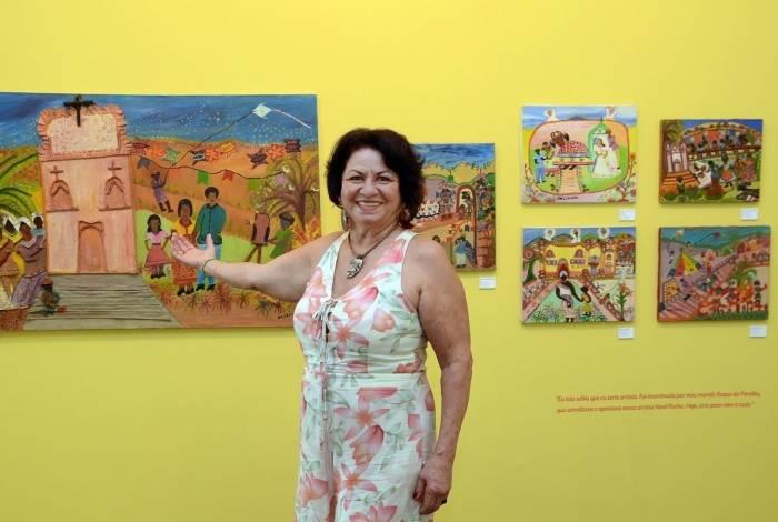 Exposição 'Poéticas Femininas: Mulheres e Arte Naif reúne pinturas de quatro artistas da Baixada