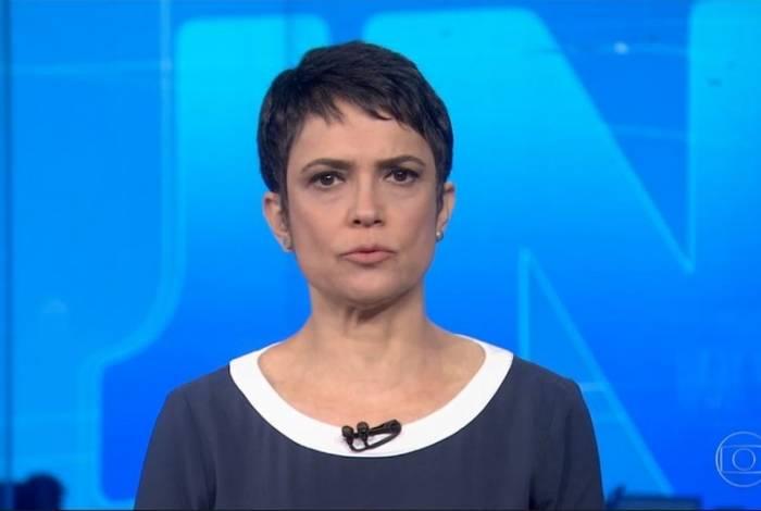Sandra Annenberg deixa a bancada do 'Jornal Nacional'