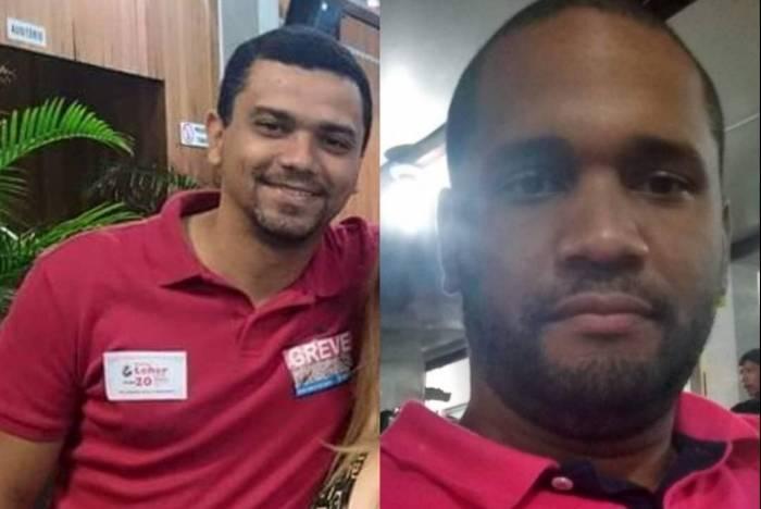 Rodrigo da Cruz Grijó e Edgard Barros Araújo desapareceram na sexta-feira, 5 de abril