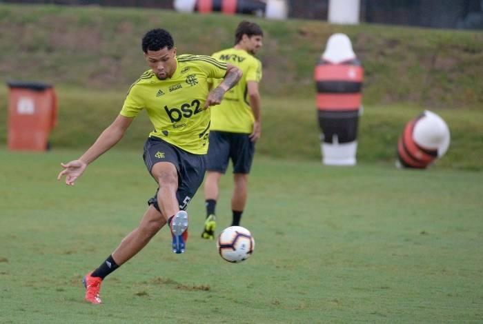 O atacante Vitor Gabriel, de 19 anos