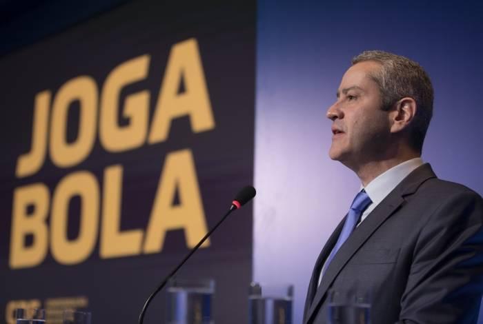 Caboclo oficializou a campanha que prega respeito e valorização da arbitragem