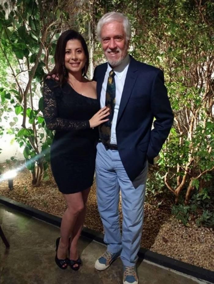 Monica Camillo e Nuno Leal Maia: juntos há 17 anos