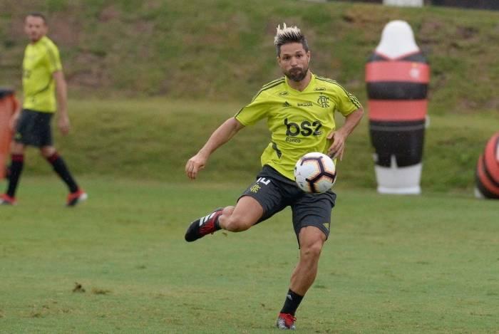 Diego não atua pelo Flamengo desde o dia 24 de julho