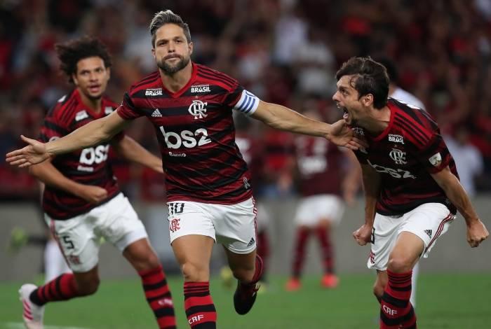 11/04/2019 - Taca Libertadores 2019 - Jogo entre Flamengo x San Jose, no estadio do Maracana, Rio de Janeiro, Brasil. foto de Alexandre Brum / Agencia O Dia