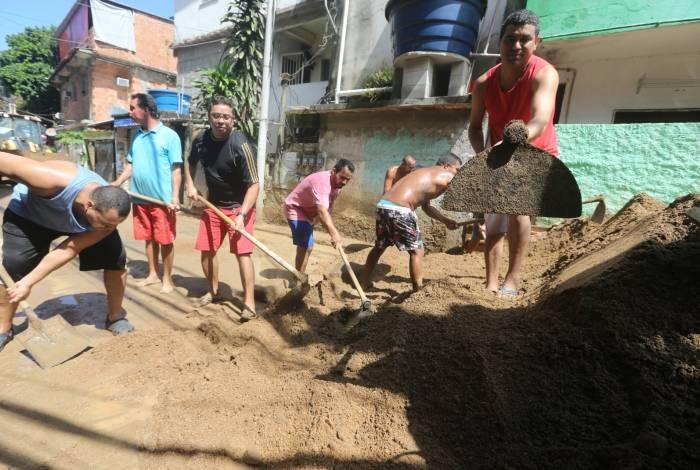 No Itanhangá, moradores sofrem com prejuízos causados pelas chuvas