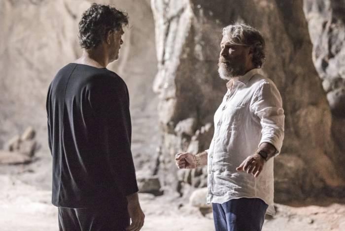 Murilo (Eduardo Moscovis) e Feliciano (Leopoldo Pacheco)