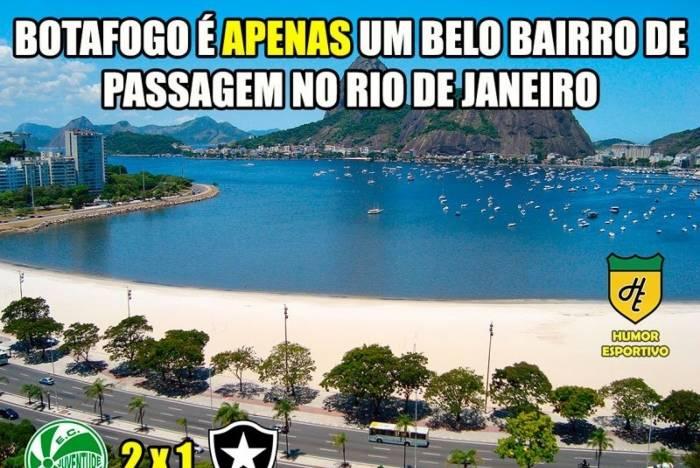 Botafogo é zoado na web após ser eliminado da Copa do Brasil por time da Série C