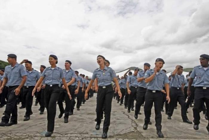 Se a Alerj aprovar e o governo sancionar, Polícia Militar do Rio ganhará mais policiais mulheres