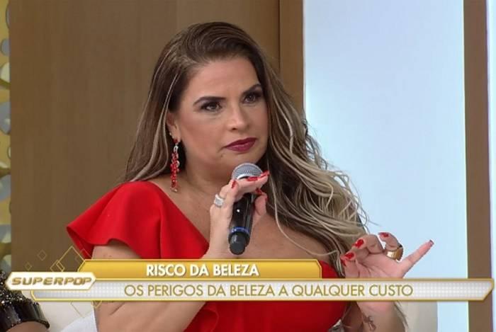 Solange Gomes fala sobre cirurgia mal feita