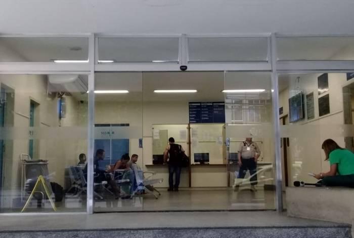 Área de traumas do Hospital Miguel Couto