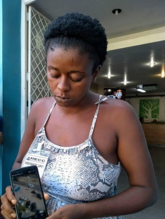Daiane está sendo assistida pela ONG Rio de Paz