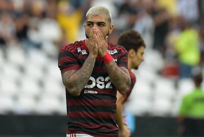 Gabigol não está em boa fase no Flamengo