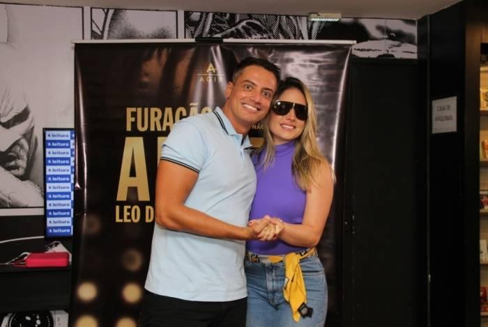 Leo Dias e Thyane Dantas