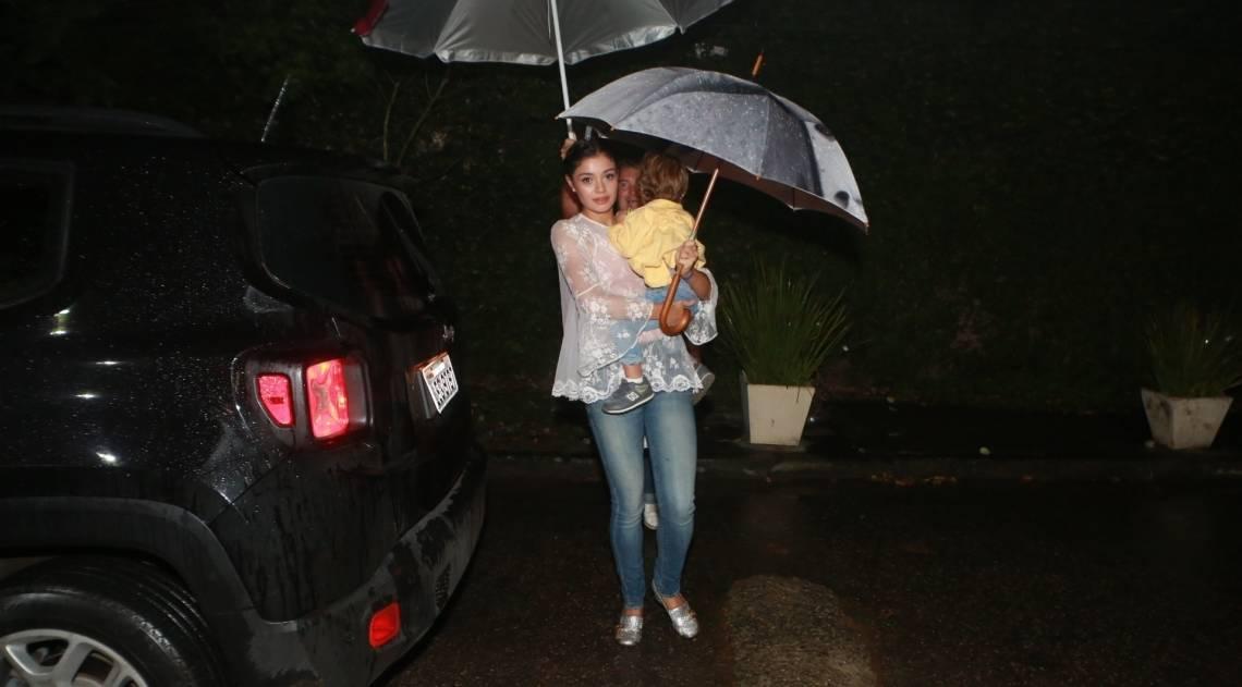 Sophie Charlotte e o filho