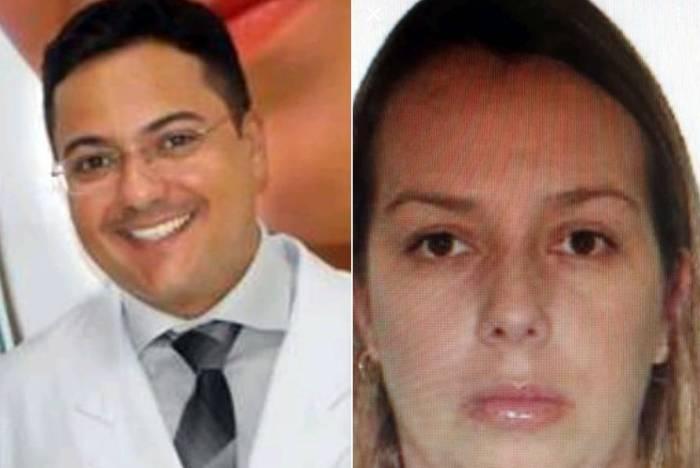 O patologista Luiz Teixeira da Silva Junior e a esposa Liliane Bernardo Rios da Silva foram encontrados em um luxuoso apart hotel em São Paulo