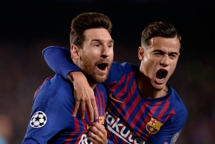 Barcelona derrotou o Manchester United