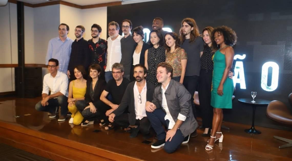 Elenco de 'Sob Pressão' participa de coletiva para lançamento da terceira temporada da série