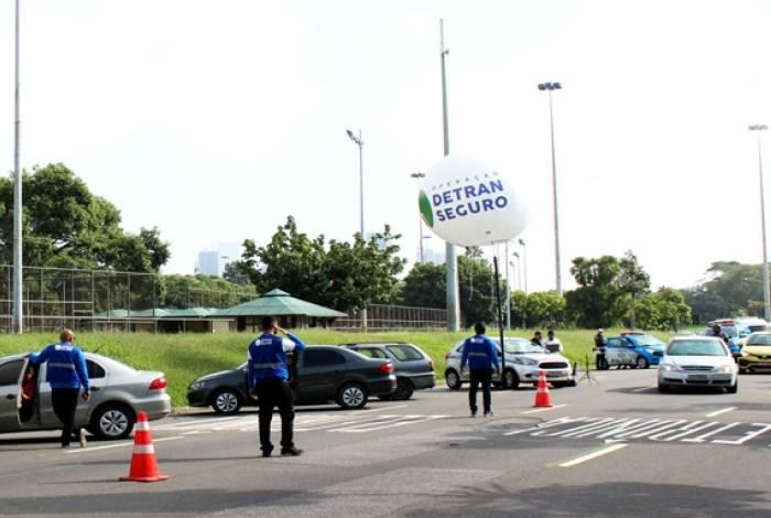 Operação Detran Seguro apreende dois veículos na última segunda-feira