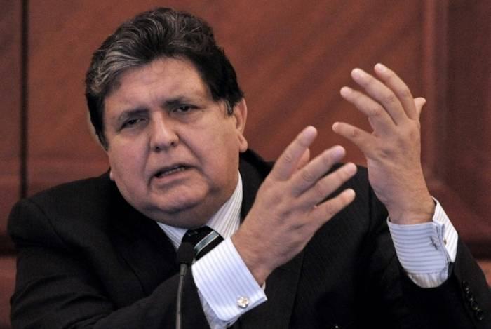 Ex-presidente peruano Alan García