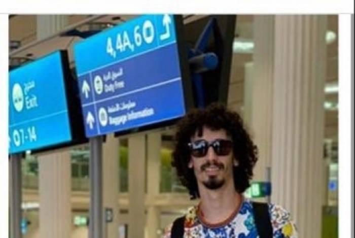 Imagem de Valdívia no aeroporto viralizou nas redes sociais