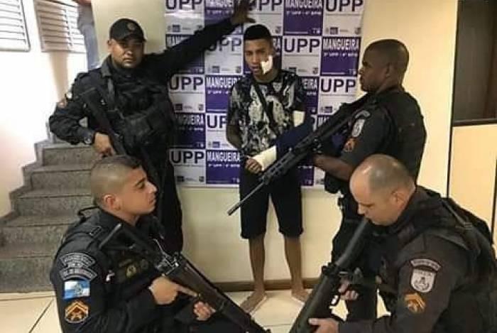 O traficante foi preso nesta terça-feira