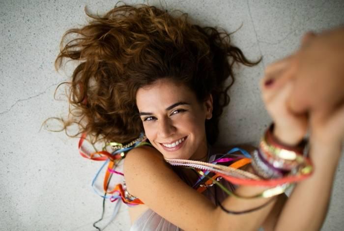 A cantora Mariana Aydar nasceu em São Paulo e tem 38 anos