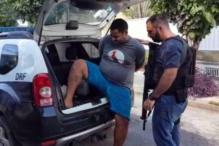 Rangel Freitas Barcellos foi preso nesta terça-feira